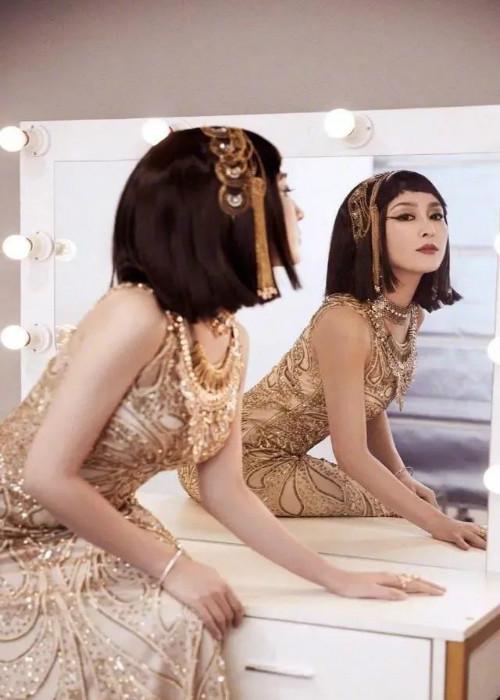 李小璐和贾乃亮事件配角马苏复出,埃及艳后扮相亮相综艺